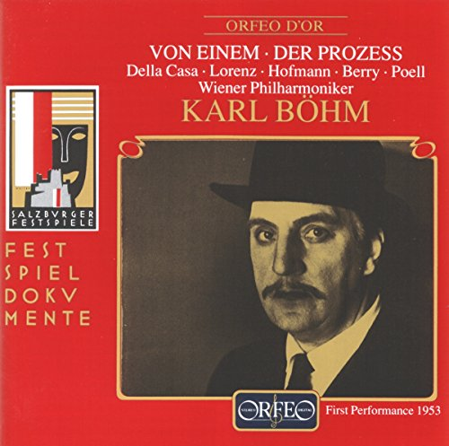 Von Einem: Der Prozess (Gesamtaufnahme) (Aufnahme Live Salzburg 1953)
