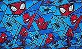 Fat Quarter Marvel Comics Spiderman Fragmente 100%