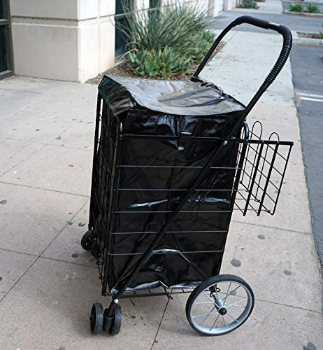 Water Proof Coating Shopping Cart Liner 18 X15 X24 BLACK Liner Only product image