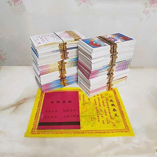 XUETT Joss Paper Money Chino Joss Paper Money Ancestro Money Tiandi Propósito General Billete De Banco Hell Bank Notes