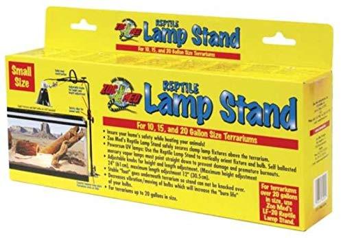 Zoo Med HB-50 Soporte para lámpara de Reptiles, pequeño