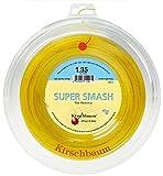 Kirschbaum Saitenrolle Super Smash, Gelb, 200m, 0105000212500021