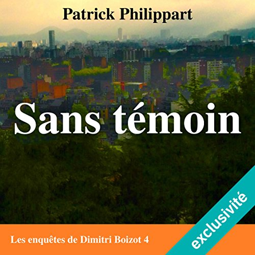 Sans témoin audiobook cover art