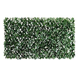 small ColorTree Expanding Screen, Artificial Ivy Mesh Fence Screen Wall Screen …
