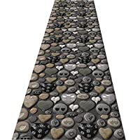 FUSHOU-3Dのユニークなデザイン廊下敷きカーペット、滑り止めの属性を持っている短いベルベットのエリアラグ、色の品質と美的表示を満たしています廊下用カーペット,A,90x530cm