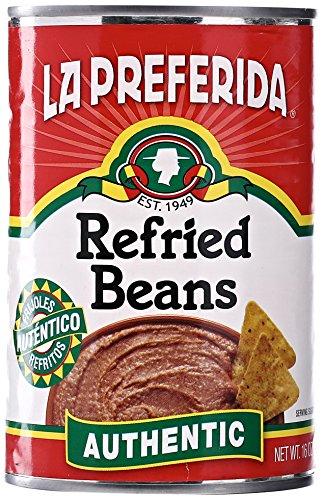 La Preferida Authentic Flavor Refried Beans, 16 oz