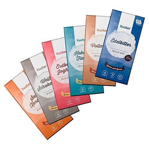 Probierset zuckerfreie Schokolade