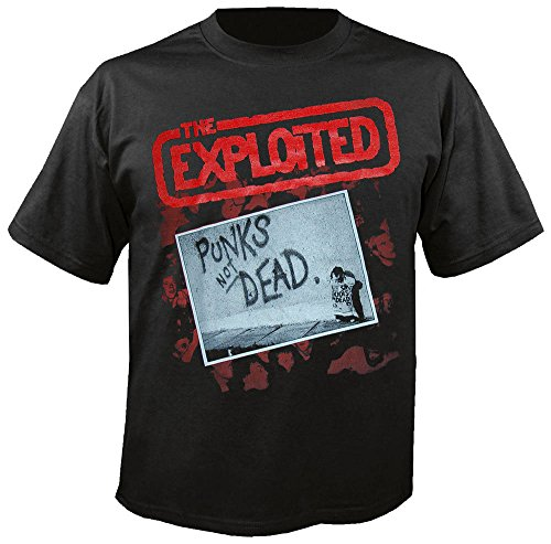 The Exploited - Punks not Dead - T-Shirt Größe XL