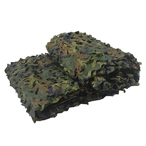 5x 1,5x5m camouflage jagd tarnnetz flecktarn armee  tarnung netz 150d oxford
