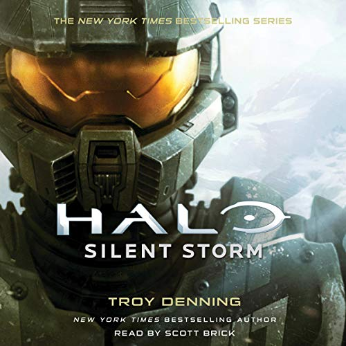 Halo: Silent Storm Audiobook By Troy Denning cover art
