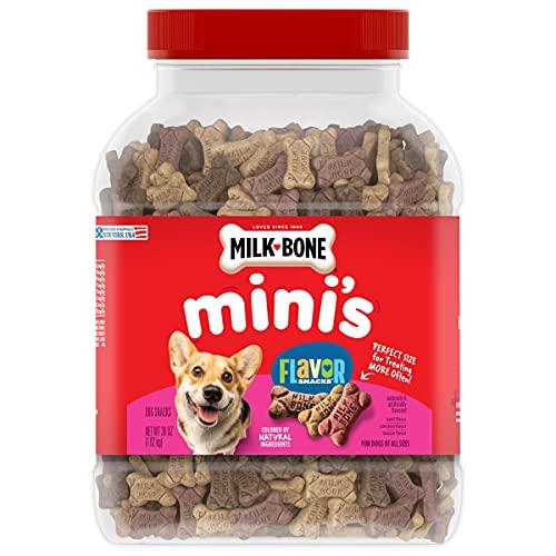 Milk-Bone Flavor Snacks Mini's Dog Treats, 36 Ounces (Packaging May Vary)