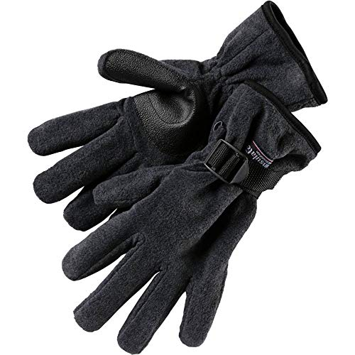 etirel Herren Fleece - Handschuh Zach anthrazit, Größe:M