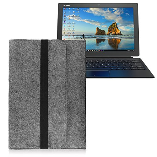 Lenovo IdeaPad Miix 510/700 Pro Tasche Sleeve Hülle Notebook Filz Cover Grau