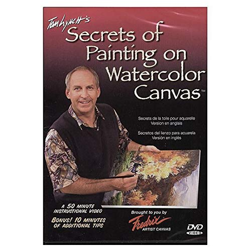 Fredrix Tom Lynch's 'Secrets of Painting Watercolor on Canvas' DVD