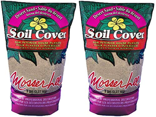 Mosser Lee ML1110 Desert Sand Soil Cover, 5 Pound (2-Pack)