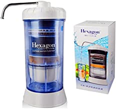 Hexagon™ 8 Stage Water Purifier Water System Filtration Healthy Water Household Portable