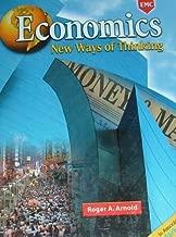 Economics New Ways of Thinking