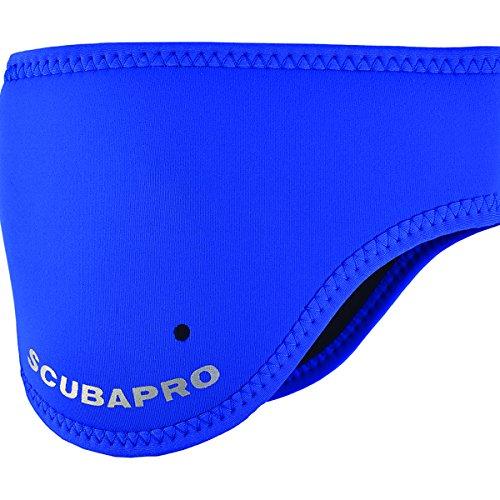 SCUBAPRO 3mm Neoprene Headband and Ear Warmer Small/Medium Black/Blue