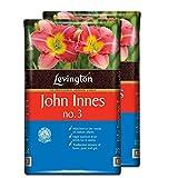 Tigerbox 2 x 10 Litre Levington John Innes No.3 Compost Repotting Mature Plants