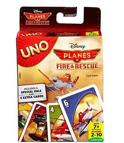 Mattel Spiele CGN24 - UNO Disney Planes 2 Kartenspiel