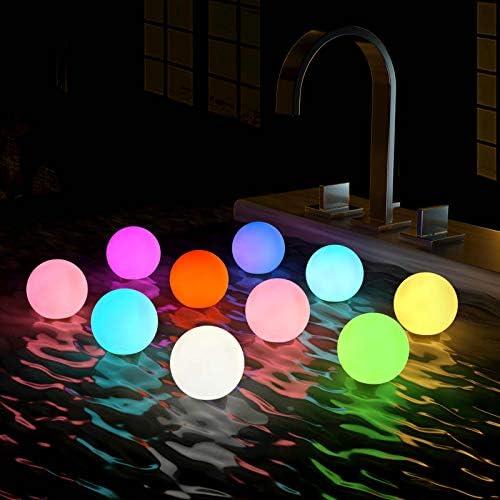 Top 10 Best hot tub floating lights Reviews