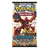 Pokemon XY11 Steam Siege Booster Pack: 10 Additional Cards for Pokemon Trading Card Game (Random, English Language)