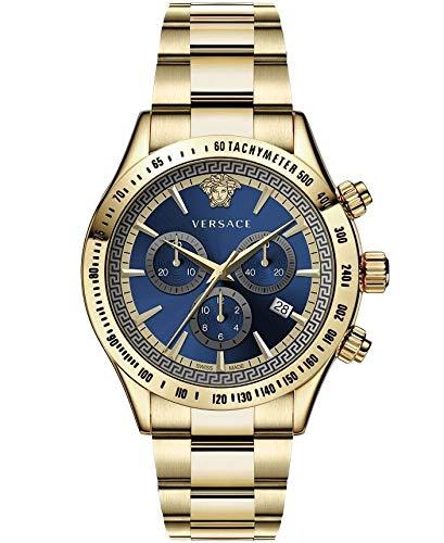 Versace VEV7006 19 Chrono Classic 44 - Reloj de Pulsera para Hombre, C