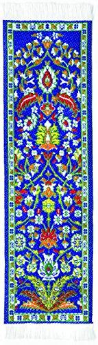 Orient Teppich Lesezeichen blau Kayseri–authentische gewebte Teppich