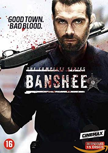 Banshee BOX Staffel/Season 1-4 DVD BOX UNCUT IMPORT MIT DEUTSCHEM TON