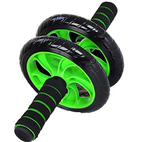 Nieuwe Keep Fit Wielen No Noise Abdominale Wheel Ab Roller Met Deurmat for de oefening Sport Fitness Gym Equipment (Color : Green)