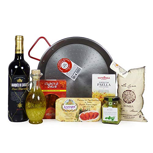 The Spanish Experience Gift Food Hamper - Gift Ideas for Mum, Mothers Day, Valentines, Birthday, Anniversary, Foodie Lovers, Business and Corporate gifts, Dad, Fathers Day