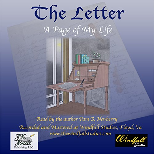 The Letter: A Page of My Life audiobook cover art