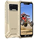 Telefono Movil Resistente F150,Otto Core Android 10,Batería 8000 mAh 6GB+64GB Impermeable IP68 Robusto Smartphone,5.86''HD 13 MP Rear Cámara Dual SIM Antigolpes Rugged Móvile Libre Barato Amarillo