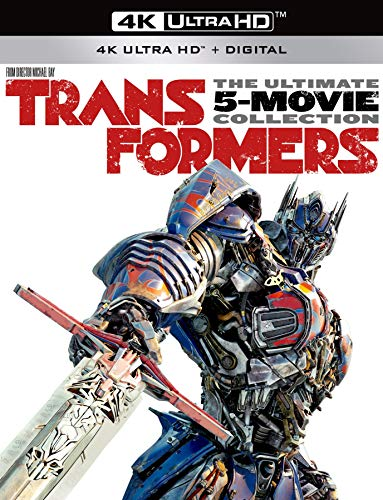Transformers The Ultimate 5-Movie Collection [4K Ultra HD + Digital] [Blu-ray]