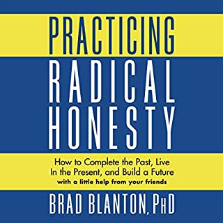 Practicing Radical Honesty audiobook cover art
