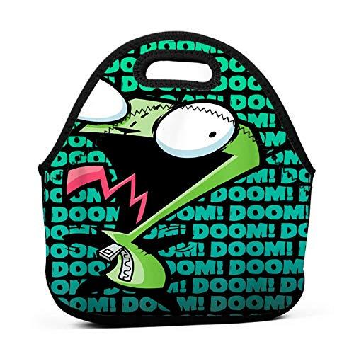 Newte Invader Zim Lunchbox Waterproof Picnic Travel Handbag