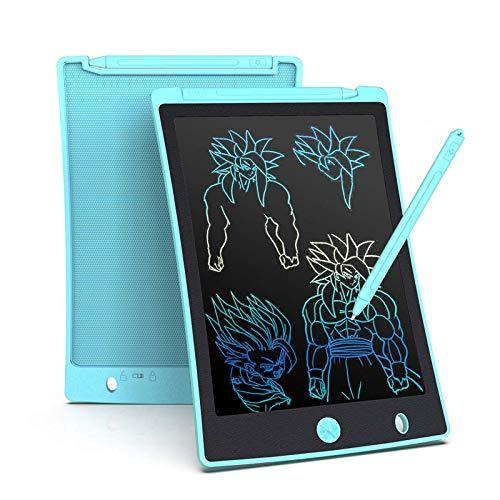 Arolun Tavoletta Grafica LCD Scrittura 8.5 Pollici, Display Colorato, Blocco Note Elettronico per Bambini e Adulti(Azzurro)