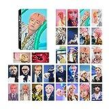 Yovvin 32 Stück BTS Lomo Karten | Kpop Bangtan Jungen [Love Yourself 結 Answer] Jungkook, Jimin, V, Suga, Jin, J-Hope, Rap Monster Mini Fotokarten für The Army(V)