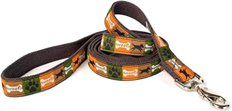 product image for Earthdog Hemp Collar Collection 6 ft. Leash Sage