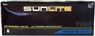 Pyramid Sunlite Thorn Resistant Bicycle Tube, 700 x 35-40 (27 x 1-3.8), Schrader Valve