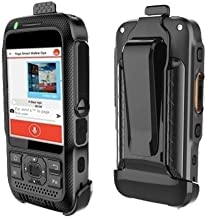 Rugged Android TOKIE TK1000 (Smart Waterproof Walkie Talkie) - 4G LTE 2 Watt Speaker with Camera, Location Tracking, Texting and 4G/3G Calls Made for Enterprise by Smart Walkie