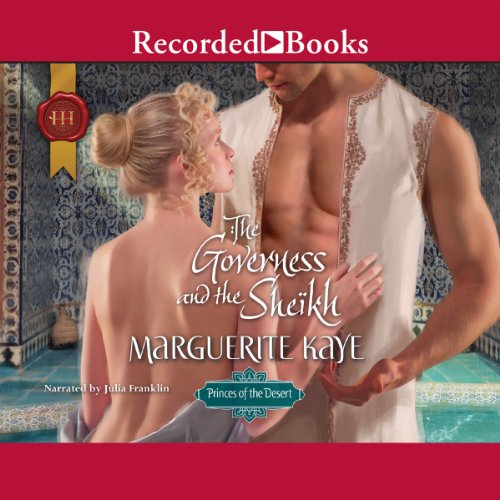 The Governess and the Sheikh audiobook cover art