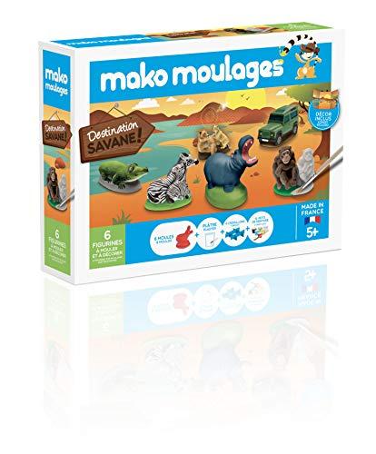 Mako Moulages - Kit Créatif - Coffret Destination Savane