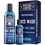 Charcoal Face Wash for Men- Scrub Away Dirt and Toxins - Cleanse, Purify and Refresh - Daily Charcoal Facial Cleanser 2