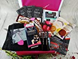 LADIES <span class='highlight'>LUXURY</span> <span class='highlight'>BEAUTY</span> GIFT SET FACE PEEL OFF MASK PACK SPA FACIAL SELF PAMPER SKIN CARE KIT DEEP CLEANSING CHARCOAL & CHOCOLATE HAMPER BOX FOR HER SEND LOVE HUGS STUDENT CONGRATS PASSING EXAMS