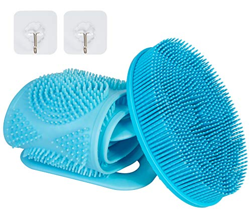(19% OFF) Silicone Loofah & Silicone Back Scrubber 2-Pack $6.45 Deal