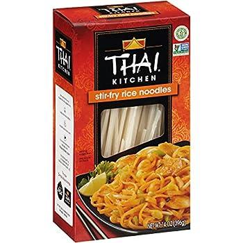 Thai Kitchen Gluten Free Stir Fry Rice Noodles 14 oz  Pack of 6