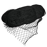 VIIRKUJA 4 x 5 m feinmaschiges Teichnetz (18 x 18 mm) | Farbe Schwarz | Vogelschutznetz, Laubnetz, Vogelabwehrnetz, Teichabdecknetz, Vogelschutznetz