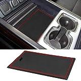 ROCCS Secret Compartment Cover Center Console Organizer Tray Hidden Plate for 2014-2019 GMC Sierra 1500 2500HD 3500HD Denali Silverado