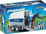 playmobil caballo policia